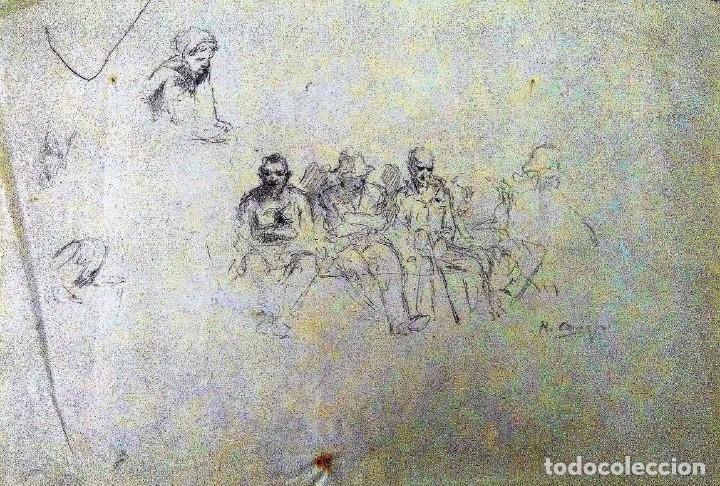 Arte: Ricard Arenys. Lote 10 dibujos originales - Foto 9 - 170095908