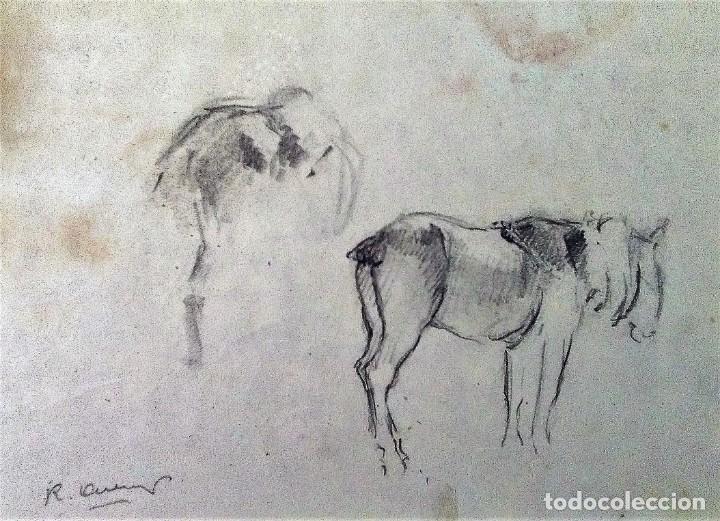 Arte: Ricard Arenys. Lote 10 dibujos originales - Foto 10 - 170095908