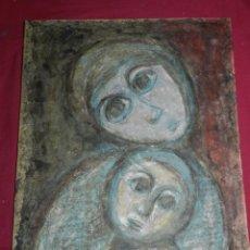 Arte: (M) AURORA GASSÓ GRU - SANTA COLOMA DE QUERALT 1928 - TÉCNICA CERA 45X33 CM, SEÑALES DE USO. Lote 170252052