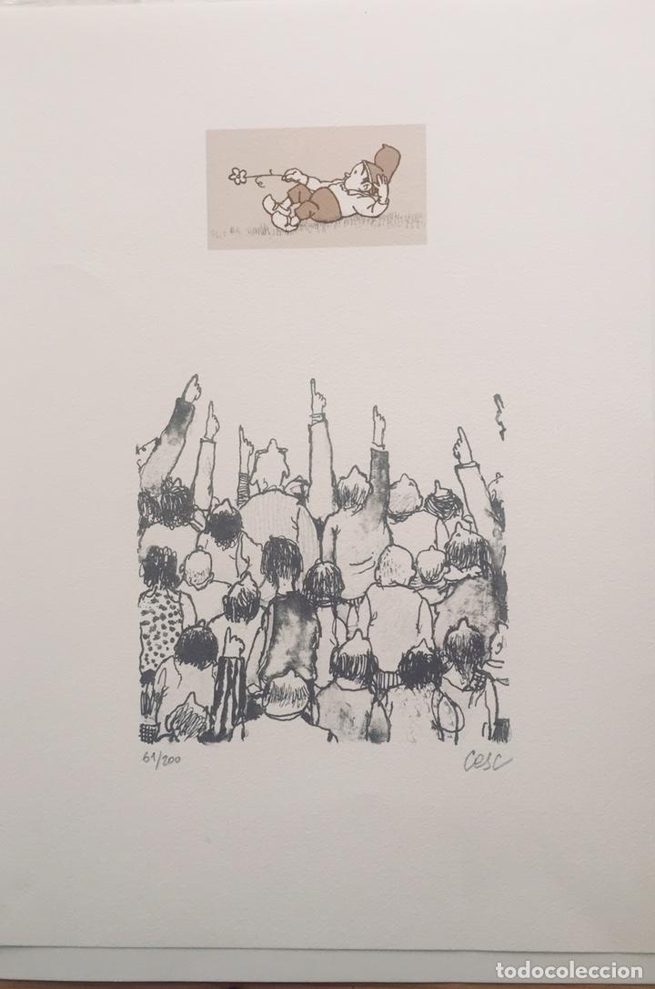 CESC PATUFET LITOGRAFIA 61/200 (Arte - Dibujos - Contemporáneos siglo XX)