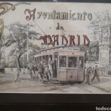 Arte: DIBUJO ORIGINAL JOAQUIM MARTRA, AYUNTAMIENTO DE MADRID. FIRMADO. Lote 171976749