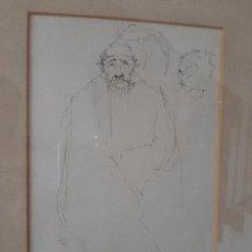Arte: JOSE ESPERT. PINTOR VALENCIANO. ALGINET. BOCETO A LAPIZ. SEPT. 1983. Lote 171978639