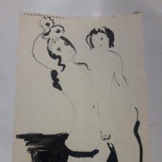 Arte: CUADRO DEL PINTOR CALABUIG PRADO. Lote 172791532