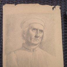 Arte: CECILIO PIZARRO. RETRATO DE CABALLERO.. Lote 173009765