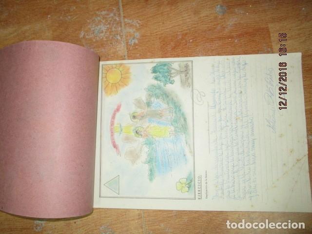 Arte: alicante alcoy antiguo album religioso de dibujos doctrina nuestro señor jesucristo - Foto 5 - 173058468