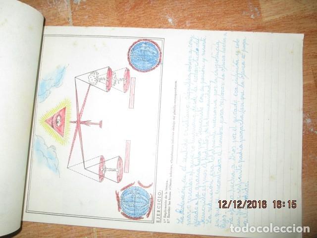 Arte: alicante alcoy antiguo album religioso de dibujos doctrina nuestro señor jesucristo - Foto 7 - 173058468
