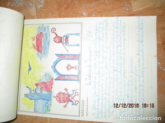 Arte: alicante alcoy antiguo album religioso de dibujos doctrina nuestro señor jesucristo - Foto 8 - 173058468