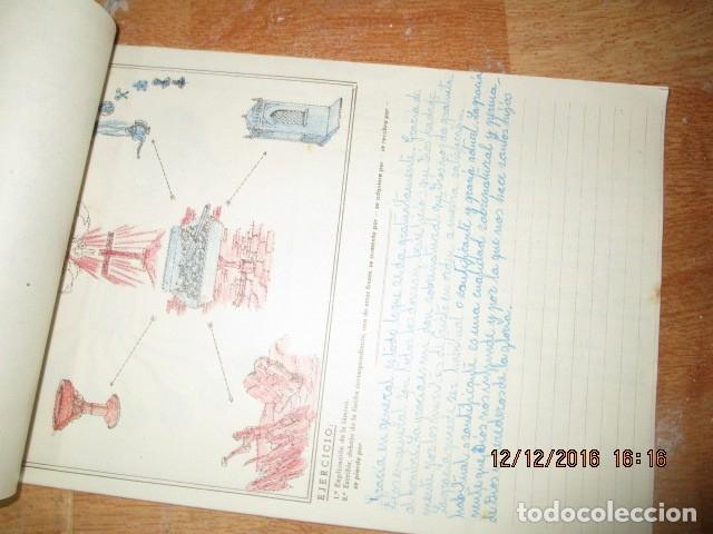 Arte: alicante alcoy antiguo album religioso de dibujos doctrina nuestro señor jesucristo - Foto 12 - 173058468