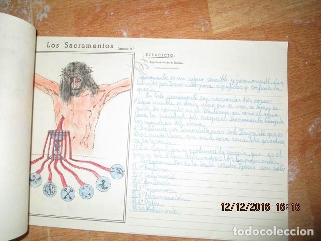 Arte: alicante alcoy antiguo album religioso de dibujos doctrina nuestro señor jesucristo - Foto 13 - 173058468
