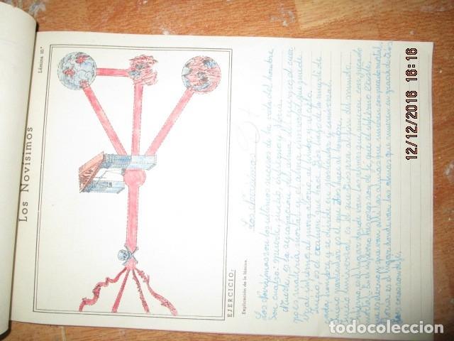 Arte: alicante alcoy antiguo album religioso de dibujos doctrina nuestro señor jesucristo - Foto 15 - 173058468