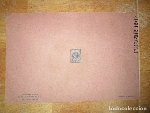 Arte: alicante alcoy antiguo album religioso de dibujos doctrina nuestro señor jesucristo - Foto 16 - 173058468