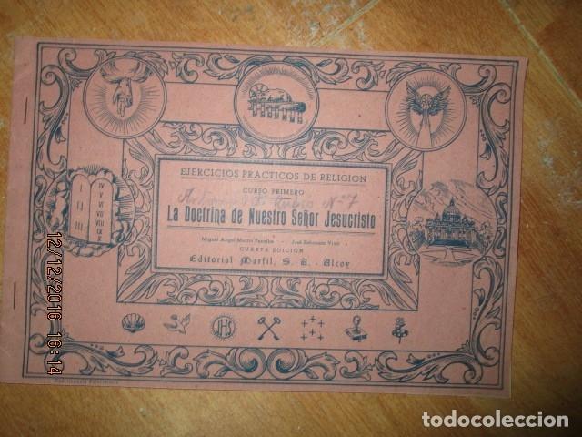Arte: alicante alcoy antiguo album religioso de dibujos doctrina nuestro señor jesucristo - Foto 19 - 173058468