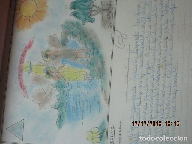 Arte: alicante alcoy antiguo album religioso de dibujos doctrina nuestro señor jesucristo - Foto 20 - 173058468