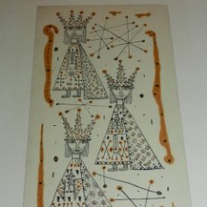 Arte: (M) DIBUJO ORIGINAL DE JOAN BROTAT 1959 (BARCELONA 1920 - 1990) ENMARCADO. Lote 173147335