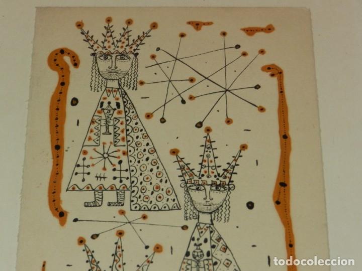 Arte: (M) Dibujo Original de Joan Brotat 1959 (Barcelona 1920 - 1990) Enmarcado - Foto 2 - 173147335