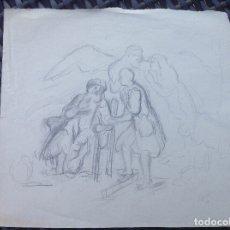 Arte: SANTIAGO ARCOS. ESCENA.. Lote 173219122