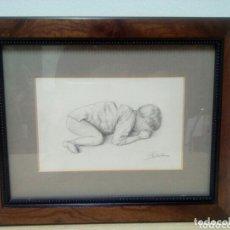 Arte: CARME BASTUS. TEMA INFANT.. Lote 173366617