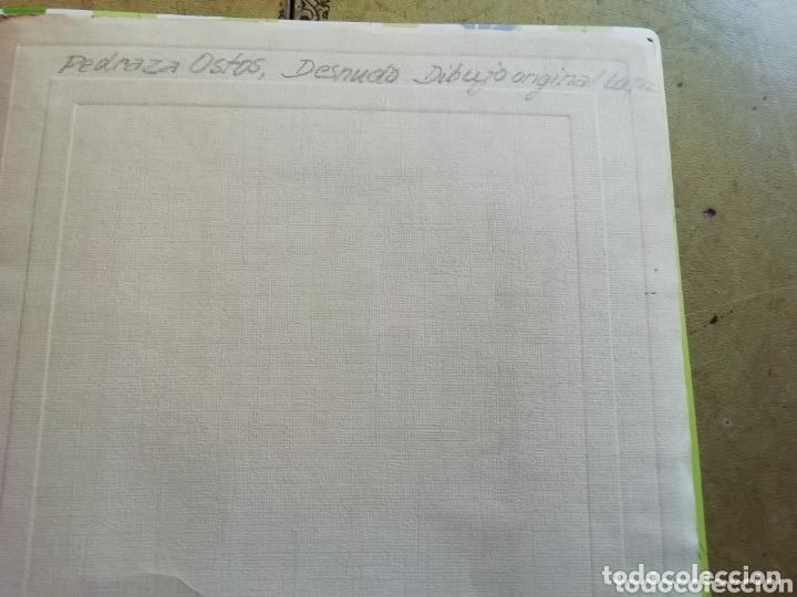 Arte: Dibujo Academia de José Pedraza Ostos sin enmarcar - Foto 2 - 173555834