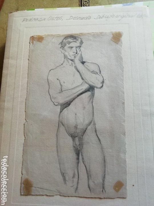 Arte: Dibujo Academia de José Pedraza Ostos sin enmarcar - Foto 3 - 173555834