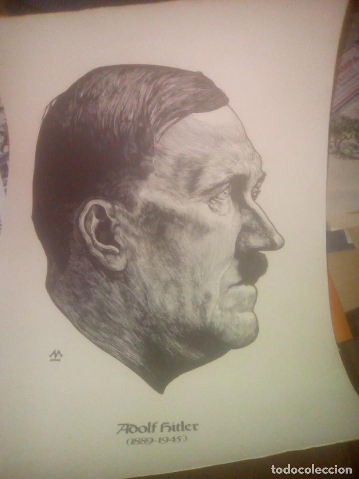 DIBUJO ADOLF HITLER (Arte - Dibujos - Contemporáneos siglo XX)