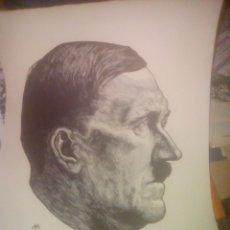Arte: DIBUJO ADOLF HITLER. Lote 173628304