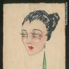 Arte: RAMON AULINA DE MATA Y DE PINOS (1904-1989). LOTE 5 UNIDADES: 1 DIBUJO, 2 FOTOS, 2 TEXTO AUTÓGRAFO.. Lote 2711169