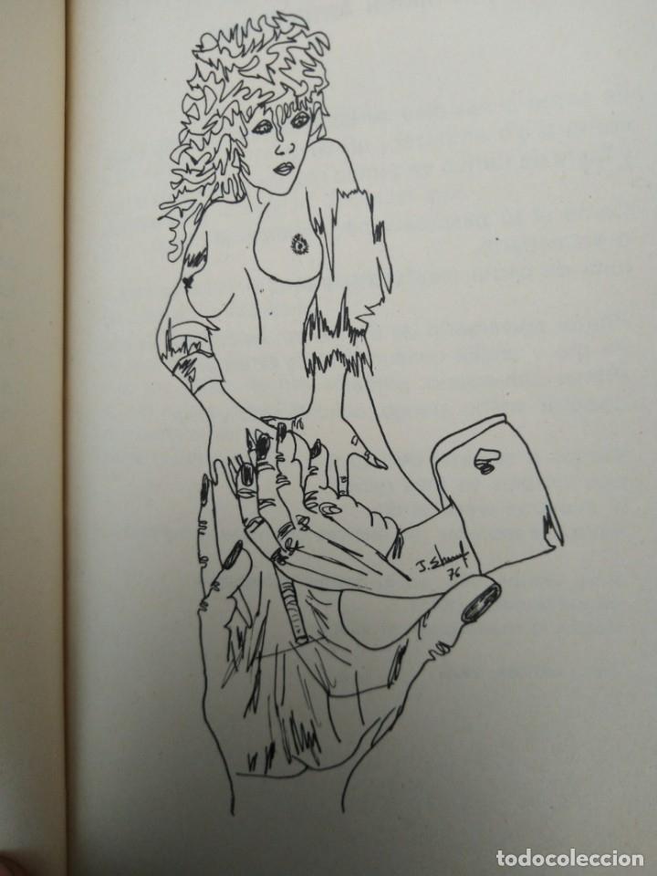 Arte: jean chenaf simbolista -surrealista miro -dali- dibujo y autografo original ver fotos - Foto 4 - 173898183