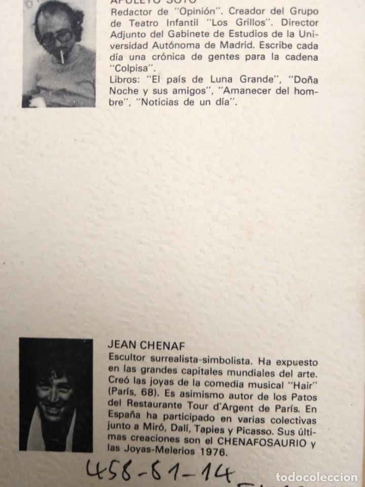Arte: jean chenaf simbolista -surrealista miro -dali- dibujo y autografo original ver fotos - Foto 5 - 173898183