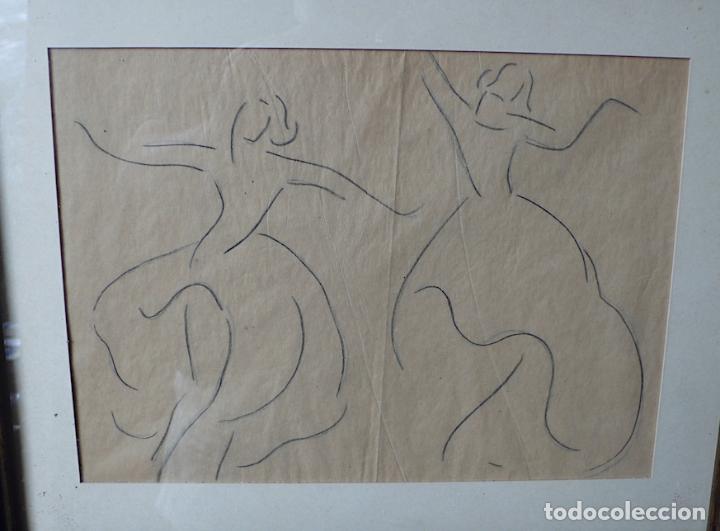 Arte: DIBUJO A LAPICERO BAILE - Foto 2 - 174071313