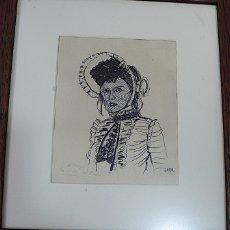Arte: JANO, DIBUJO ORIGINAL LAPIZ Y TINTA FIRMADO. Lote 174077363