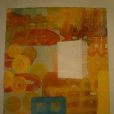 Arte: CARLES GUITART. ORIGINAL. MIXTA SOBRE PAPEL. FIRMADO. 30 X 23 CM.. Lote 174500224