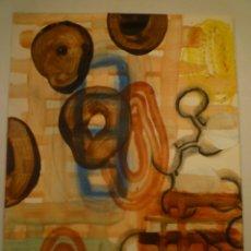Arte: CARLES GUITART. ORIGINAL. MIXTA SOBRE PAPEL. FIRMADO. 37 X 28'5 CM.. Lote 174500309