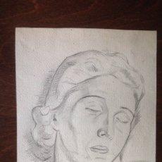 Arte: AURELIO ARTETA. DAMA DURMIENDO.. Lote 174536527