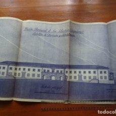 Arte: ARQUITECTURA, COPIA, PRISIÓN PROVINCIAL SAN SABASTIÁN, GUIPUZCOA, 1944. Lote 175349065