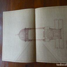 Arte: ARQUITECTURA, REPRODUCCIÓN, SAGRARIO. Lote 175351507
