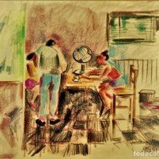 Arte: VIVES FIERRO.. DIBUJO ORIGINAL. Lote 175525372