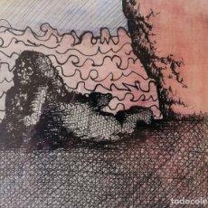 Arte: JORGE CASTILLO. DIBUJO ORIGINAL. Lote 175568358