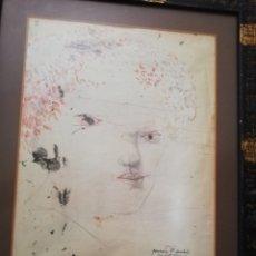 Arte: DIBUJO ACUARELADO DEL GRAN PINTOR MODEST CUIXART... Lote 175626538