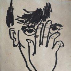 Arte: DIBUJO A ROTULADOR SIN FIRMA.. Lote 175694714