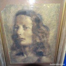 Arte: ANTIGUO DIBUJO DEL SIGLO XIX CON FIRMA ILEGIBLE.BUEN TRAZO.. Lote 176452878