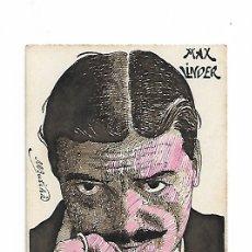 Arte: MAX LINDER DIBUJO EN PLUMILLA. Lote 176517575