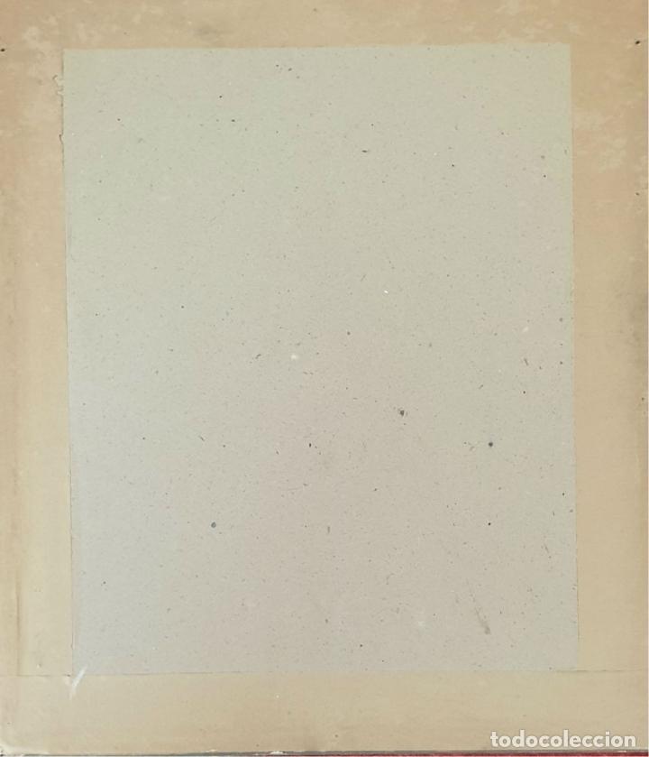 Arte: RETRATO DE MUJER. DIBUJO AL CARBÓN. FRANCESC SERRA. SIGLO XX. - Foto 6 - 176619273