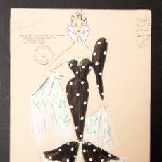 Arte: VICTOR MARIA CORTEZO - GOUACHE. Lote 176647564