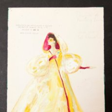 Arte: VICTOR MARIA CORTEZO - GOUACHE. Lote 176647617