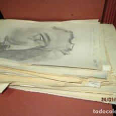 Arte: CARPETA 50 DIBUJOS 1930 DE EXAMEN FIRMAS ARTISTAS EN ALICANTE ESCUELA DE ARTE DESAPARECIDA. Lote 176716342