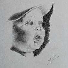 Arte: BEBE OBRA DE GILABERTE. Lote 176760762