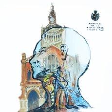 Arte: HOSPITAL DE LA SANTA CREU I SANT PAU - VII CURSO DE CIRUGÍA CABEZA Y CUELLO. Lote 176823399