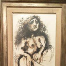 Arte: DESNUDO POR ÁLVARO DELGADO RAMOS (MADRID 1922-2016). Lote 188826892