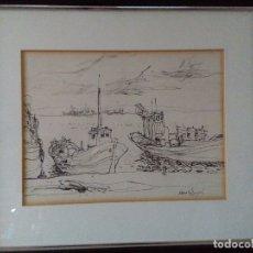 Arte: MORATO ARAGONES ( REUS,.) ( , PUERTO DE CAMBRILS ) 2. Lote 177031189