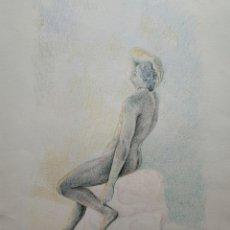Arte: DIBUJO ORIGINAL, FAUNO, NÁPOLES. FIRMADO Y FECHADO. Lote 177055019